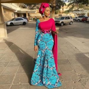 lovely ankara dress