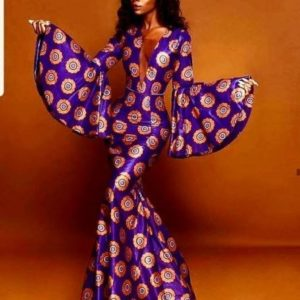 stylish ankara gown