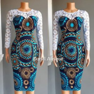 lace and ankara