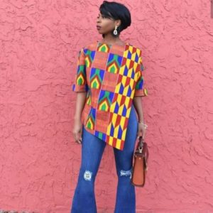 Ankara casual top