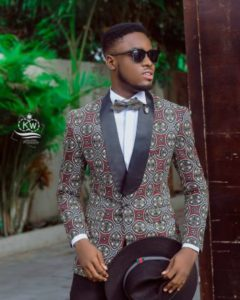 Ankara suit for men