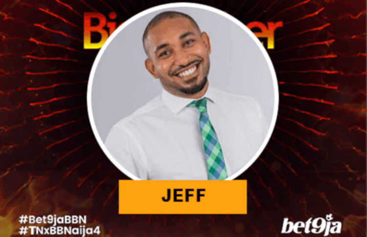 Jeff BBNaija 2019 housemate