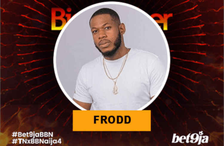 Frood BBNaija 2019 housemate