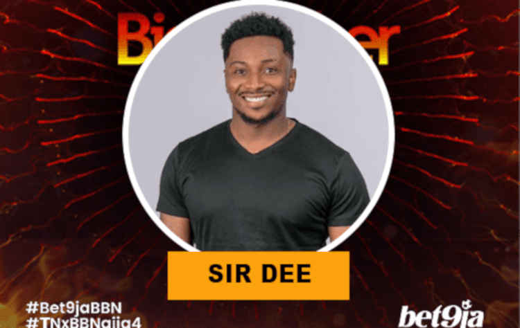 Sir Dee BBNaija 2019 housemate