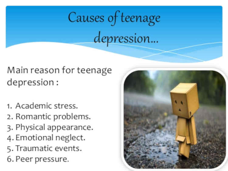 Causes Of Teens Depression