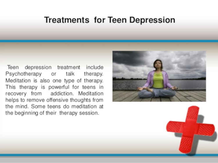 Treatment For Teens Depression