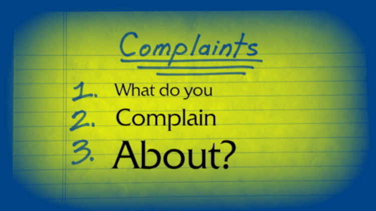 What Do You Complain About