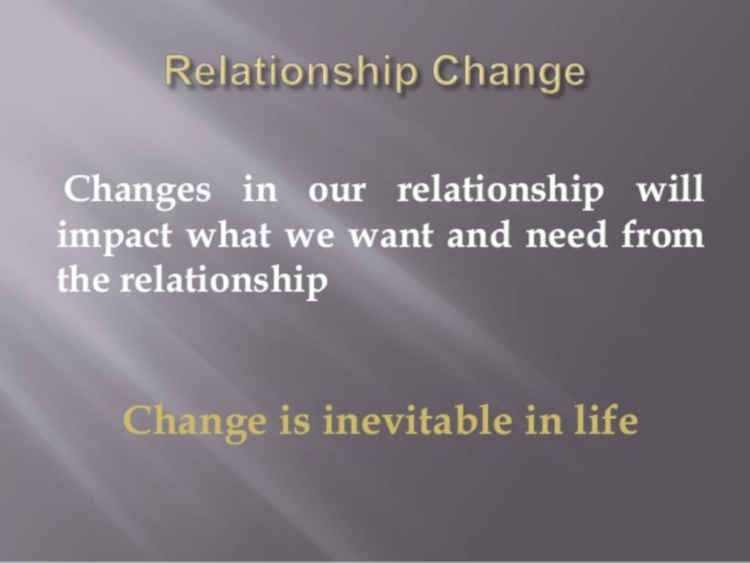 Look Forward To Changes