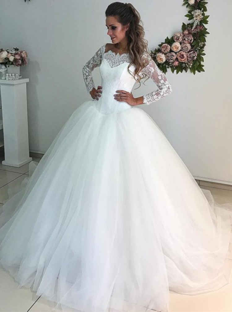 Off the Shoulder Wedding Dresses