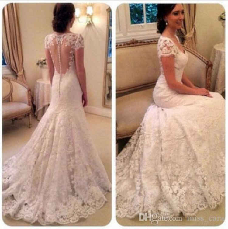 Cap Sleeve Wedding Dresses