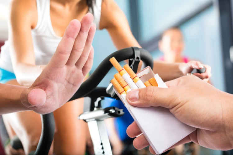 Exercise Help Quit Smoking