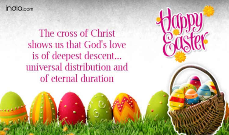 Lovely Easter Messages For Loved Ones