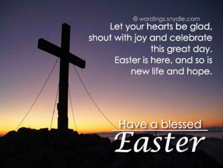 Religious Happy Easter Messages