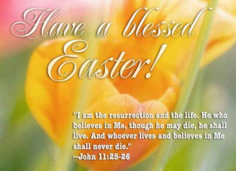 Easter Messages To A Friend