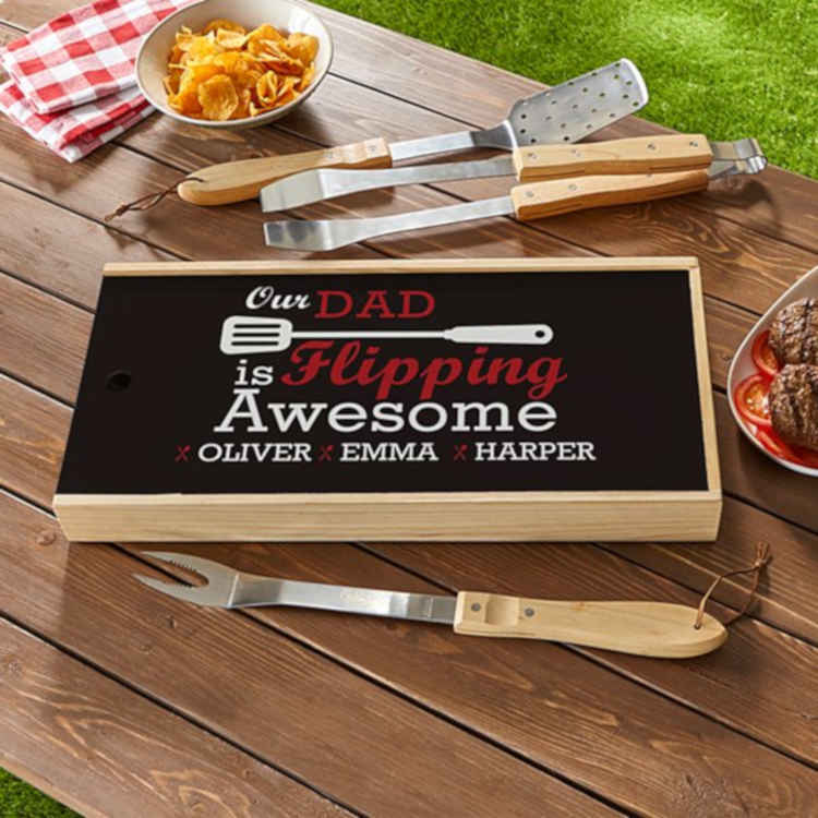 Flipping Awesome Grilling Tray