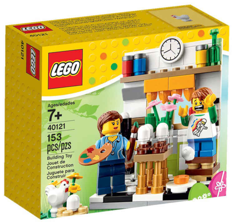 LEGO Painting Easter Egg Set