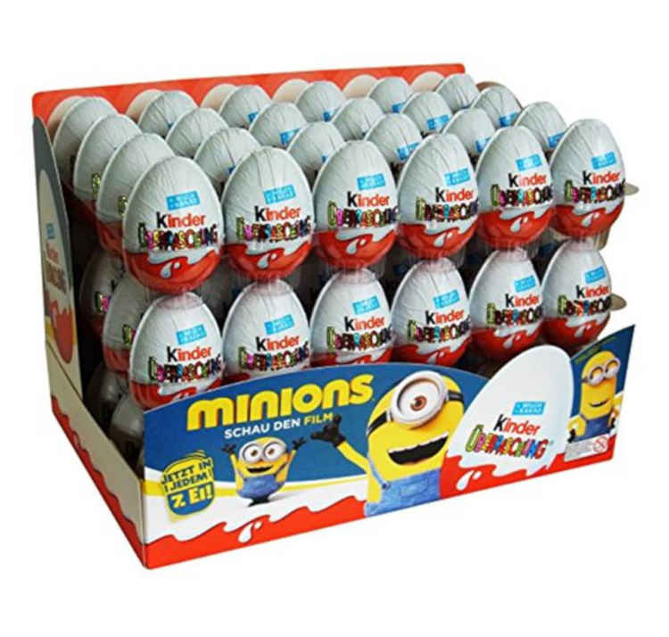 Kinder Surprise Egg Pack