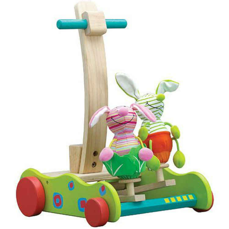 Wonder world Hopping Bunny Walker Push Toy