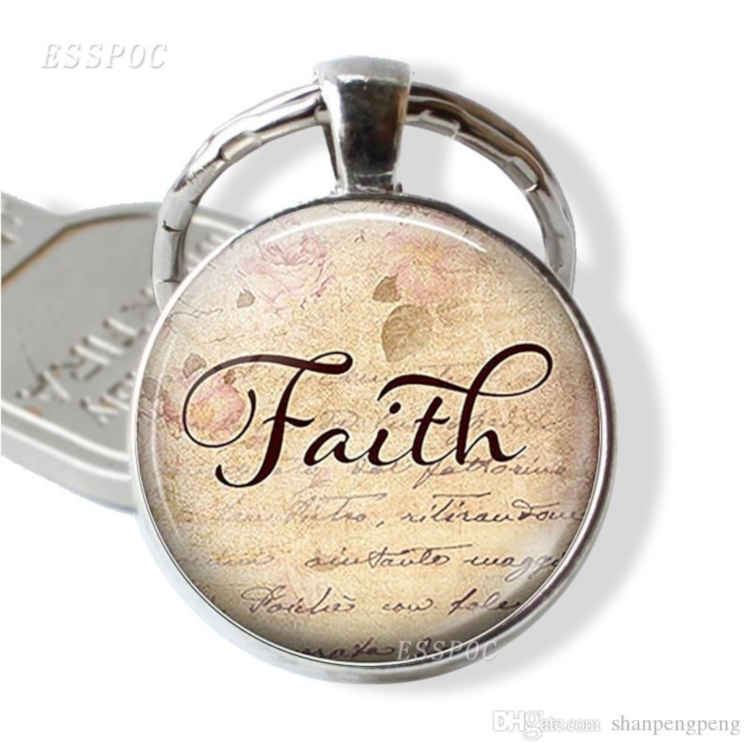 Word Of Faith Key Chain