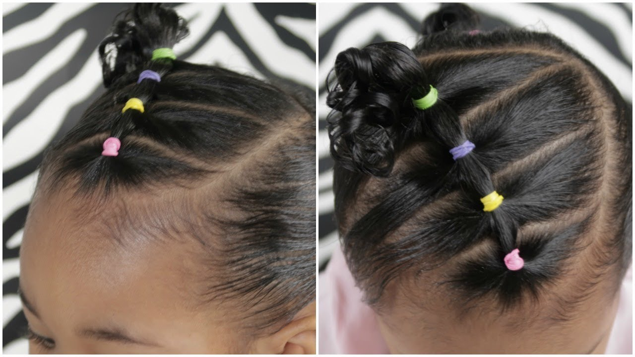 EASY 5 Minute Toddler Hairstyle | Lifestyle Nigeria