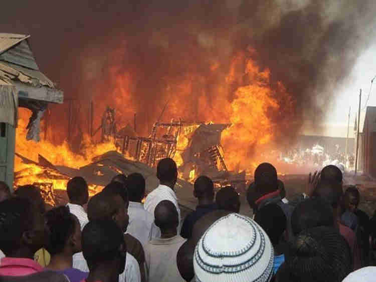 LASEMA: Pregnant Woman,16 Others Injured In Lagos Fire