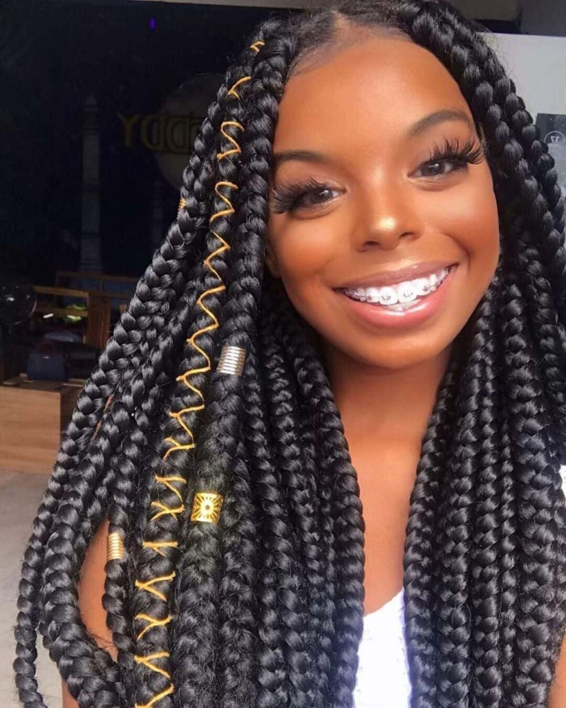 22 Aesthetic Braided Hairstyles - African Braided Hair For ...