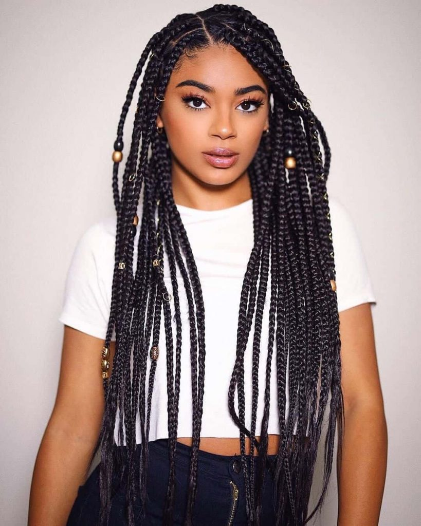 22 Aesthetic Braided Hairstyles - African Braided Hair For Ladies 2020   Lifestyle Nigeria