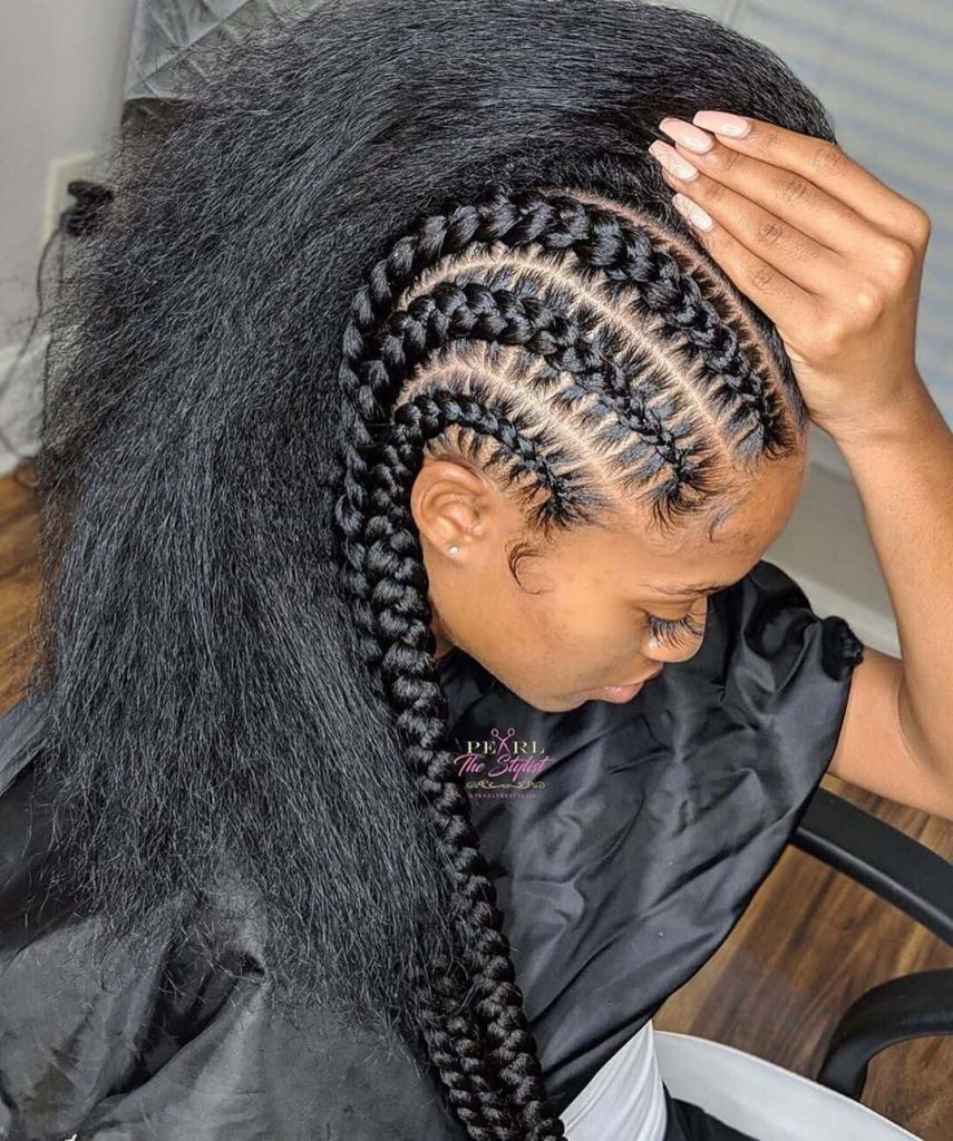 17 Awesome Braid Hairstyles - African Black Braided Hairstyles 2020