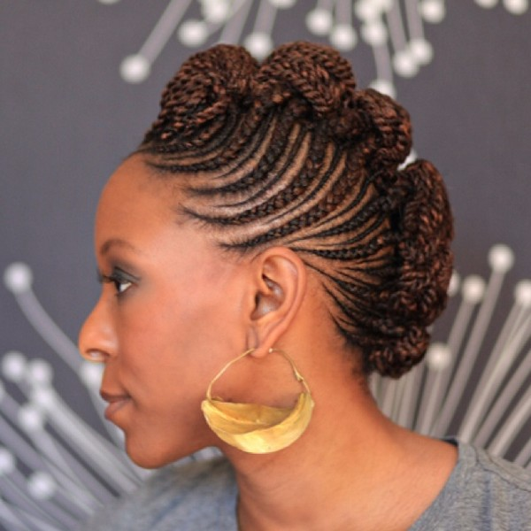 Pictures Of Ghana Braids Style