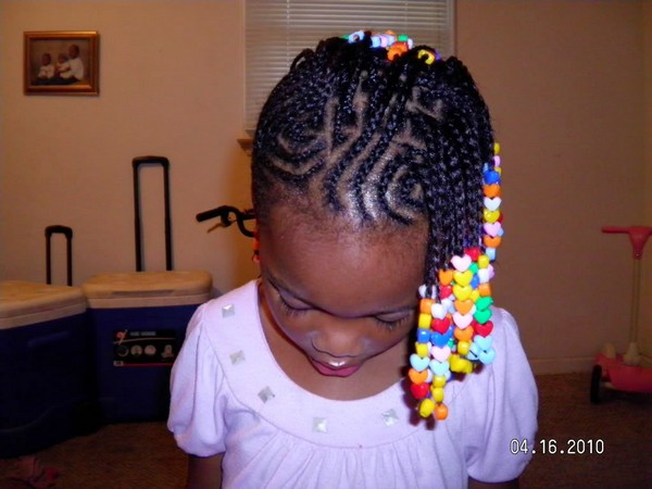 Simple Braided Hairstyles For School