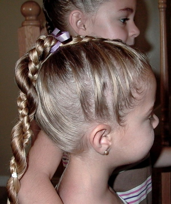 Simple Braided Hairstyles For Short Hair