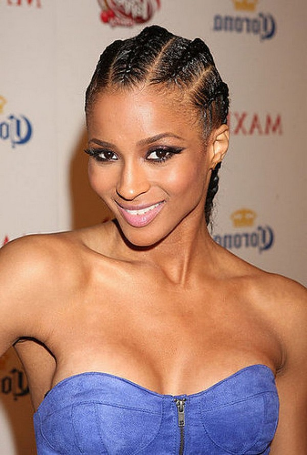 Cornrow Hairstyles With Beads