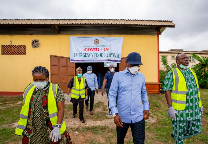 The Lagos State Governor, Babajide Sanwo-Olu, has commenced the distribution of bags of rice, beans and Vitamin C to indigent families to cushion the stay-at-home order aimed at tackling the spread of Coronavirus. 5