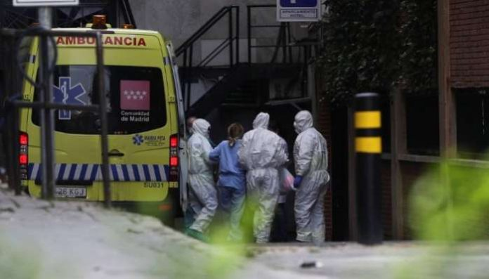 The coronavirus death toll in Spain surged to 2,182 after 462 people died within 24 hours, the health ministry said on Monday.