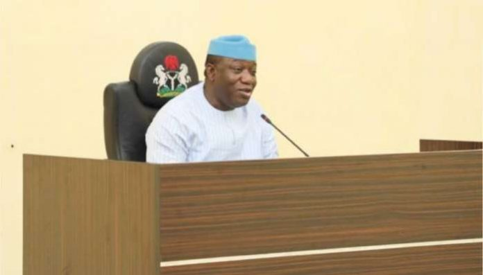 Ekiti State Governor, Dr. Kayode Fayemi has signed into law the State Security Network Agency popularly known as Amotekun bill with a warning to criminals to stay away from the state.