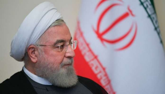Iranian President Hassan Rouhani has told foreign powers to withdraw their forces from the Middle East, warning that they may be in danger if they remain in the region.