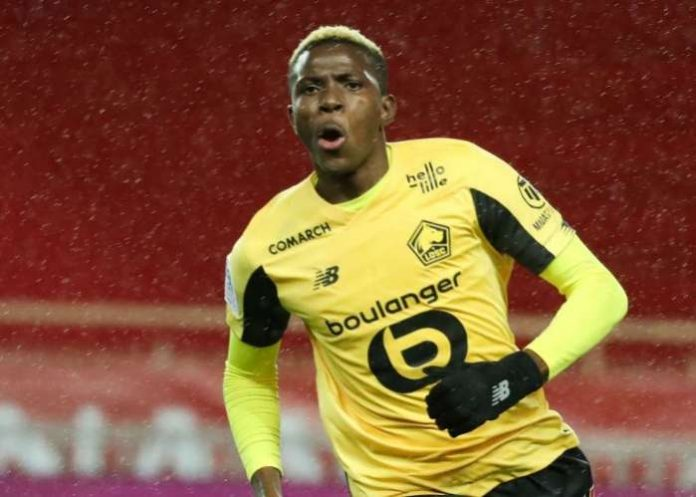 Victor Osimhen has joined Senegal's Moussa Sow and Ivory Coast's Gervinho in Lille's exclusive goalscoring club after scoring a goal on his 18th appearance.