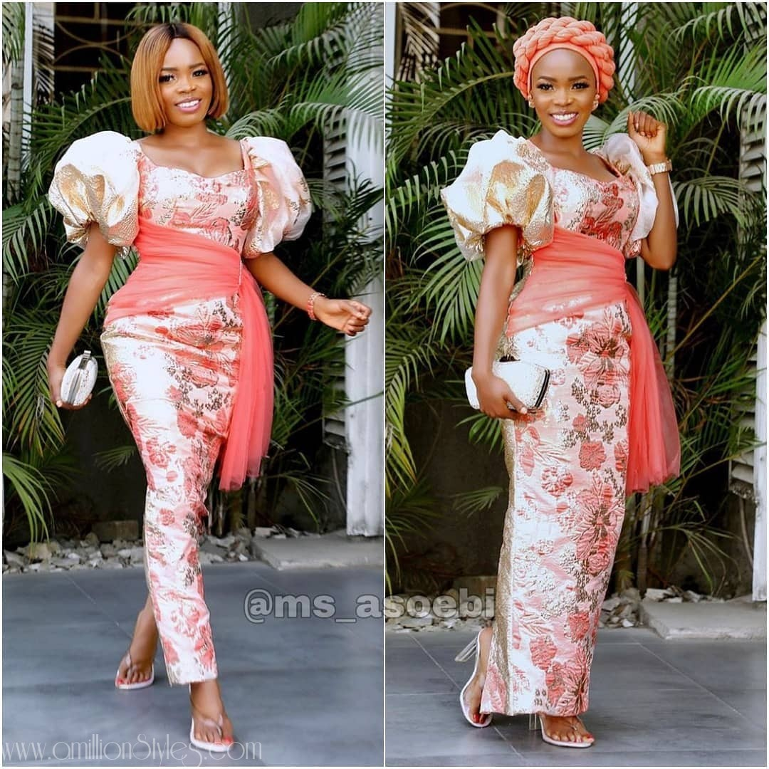 Latest Nigerian Lace Styles and Designs-Volume 26
