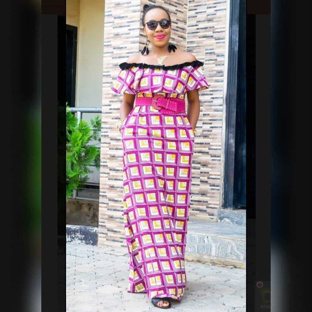 20 PICTURES Unique Ankara Styles For Pretty Ladies - African Wears