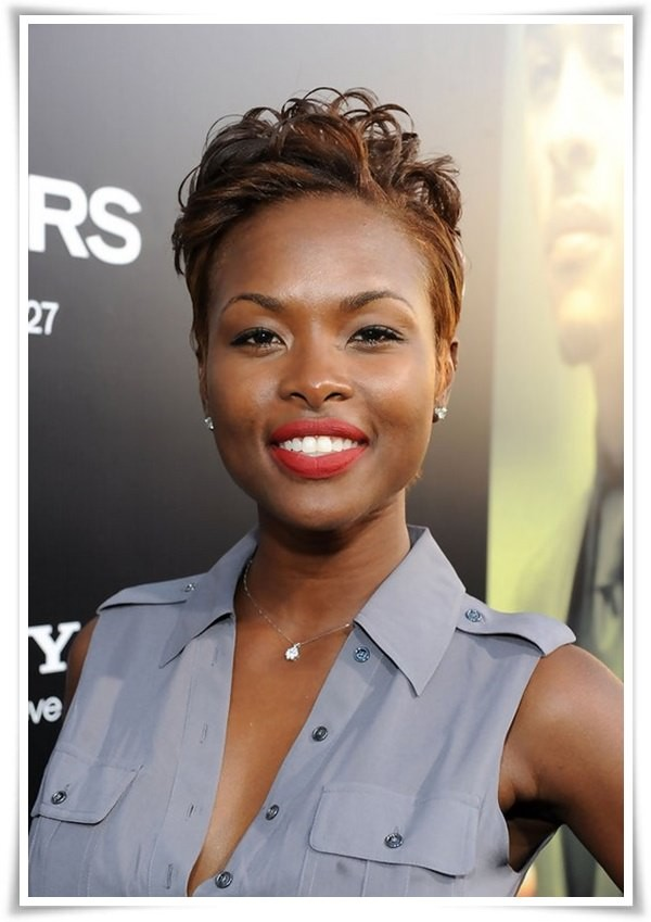 Short Brown Hairstyles For Black Women