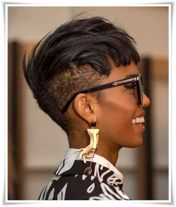 Short Haircut For Black Women
