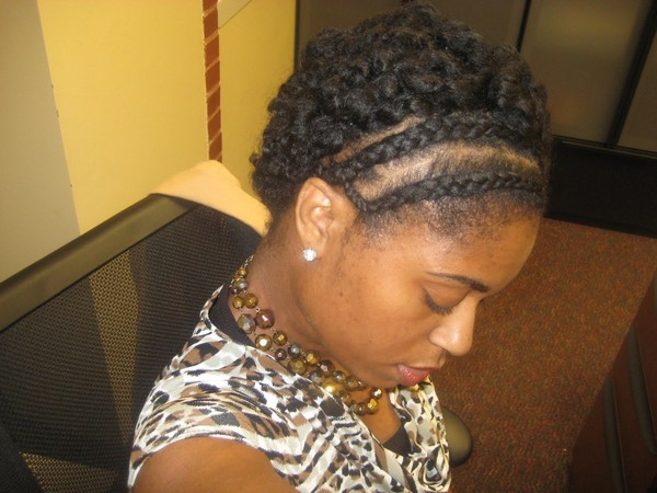 Iverson Braids With Weave