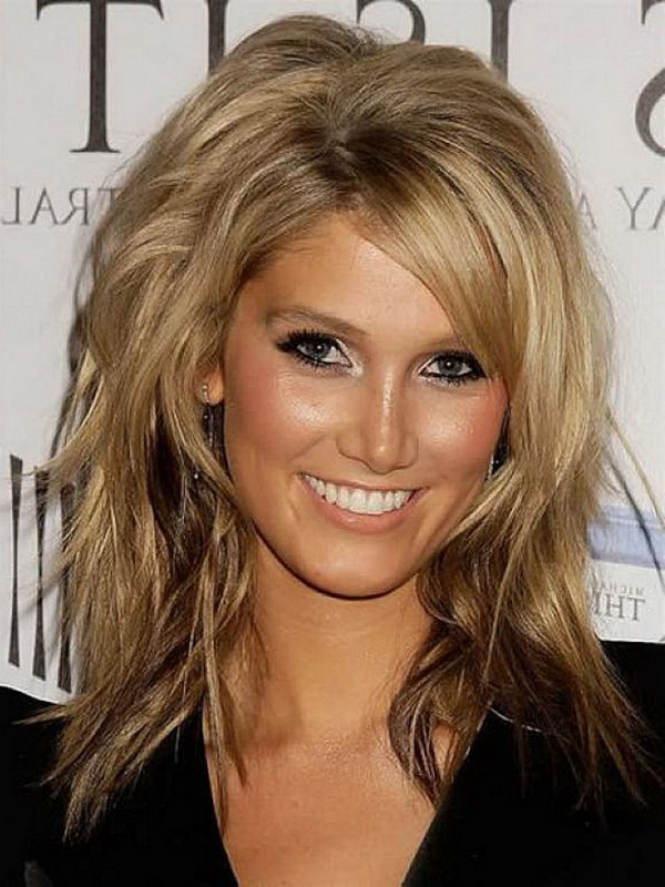 Messy Blonde Layered Hairstyles