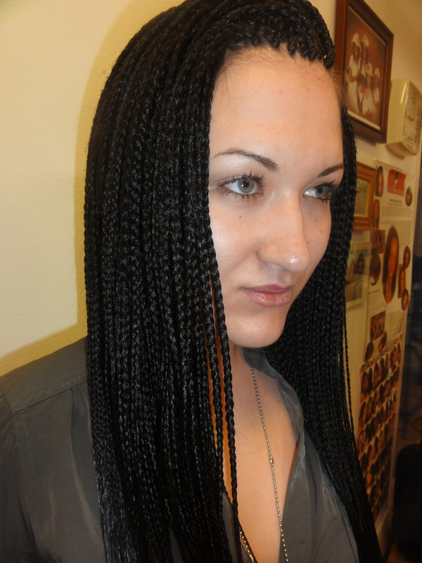 How To Do Micro Braids On Short Hair