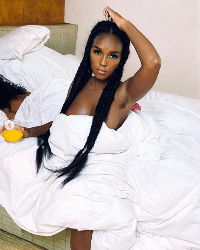 Janelle Monae Goes Topless As She Covers GayLetter