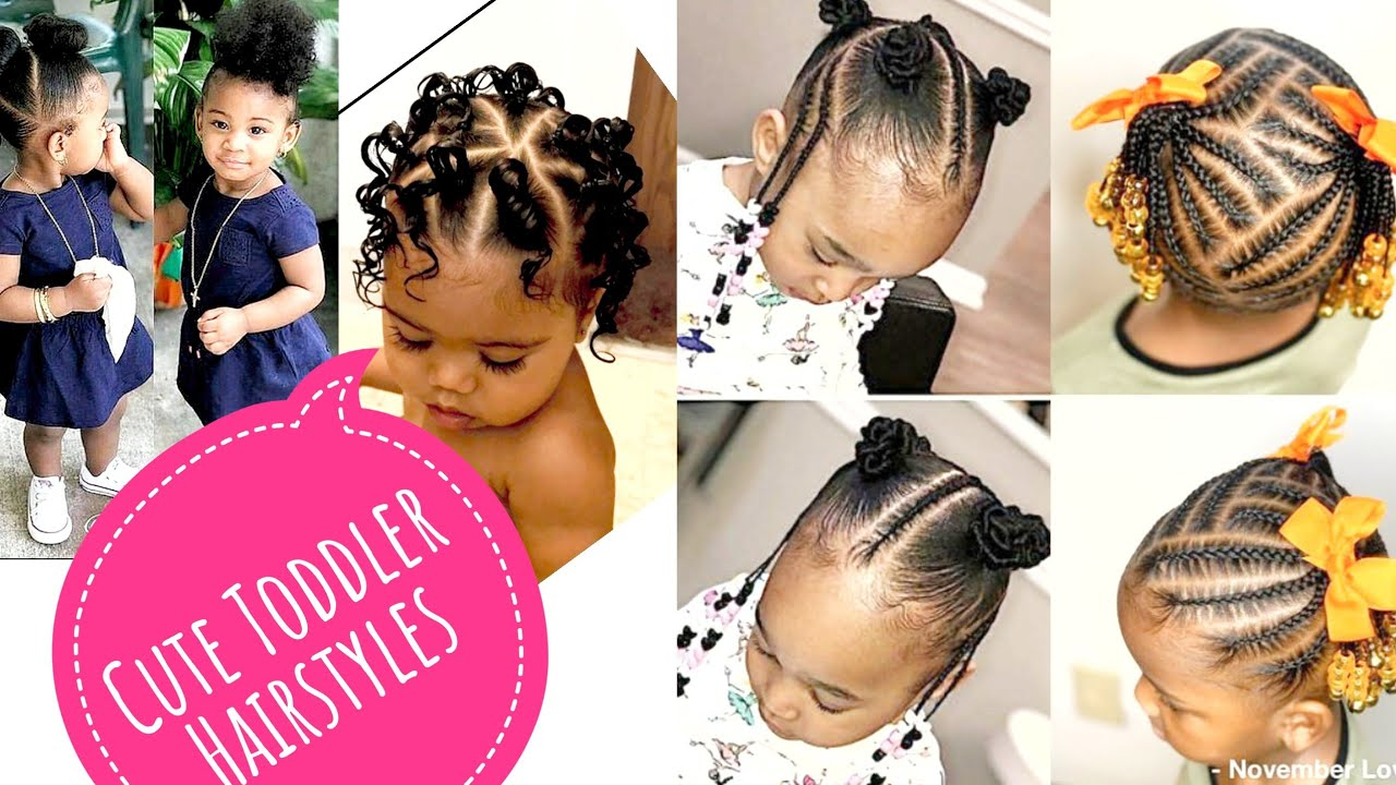 Cute Easy Black Girls Hairstyles The Black Kid Cornrows And Braids Hairstyles Toddlers Edition Lifestyle Nigeria