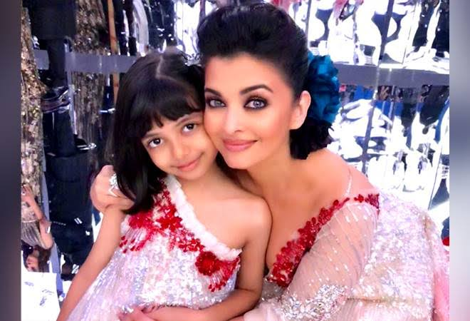 Aishwarya Rai and daughter