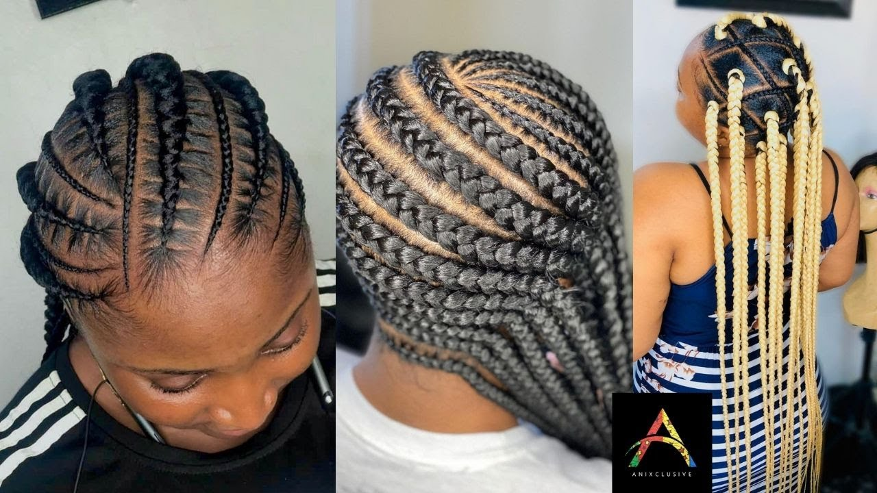 NEW 2021 BRAIDED HAIRSTYLES: COMPILATION OF BOX BRAIDS ...