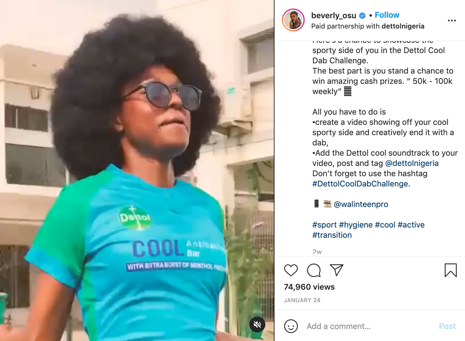 Beverly Osu, Denola Grey, VJ Adams, Sound Sultan and others join Odion Ighalo In #DettolCoolDabChallenge