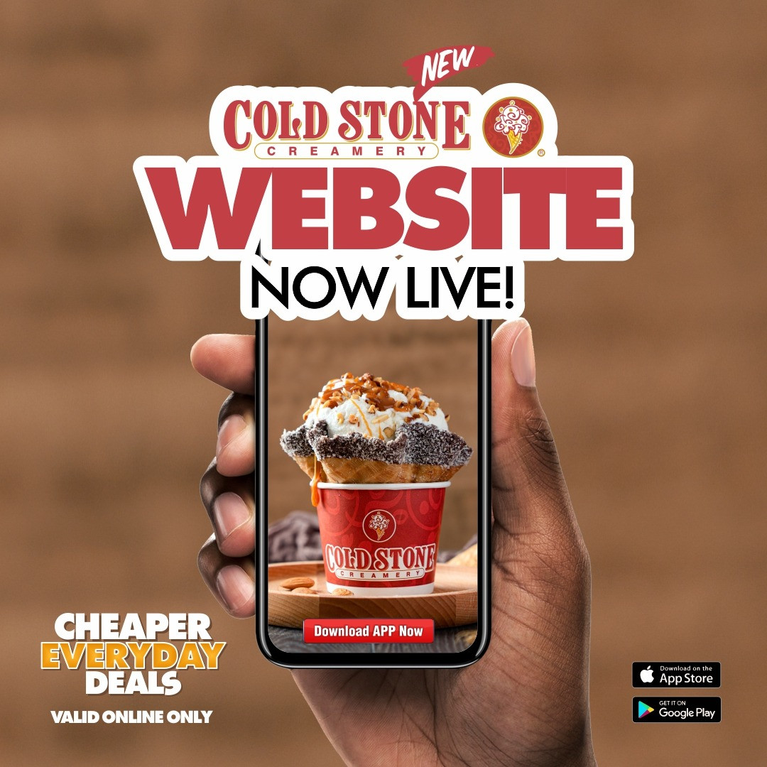 Indulgence now in your pocket as Cold Stome Creamery Launches its new website and mobile app